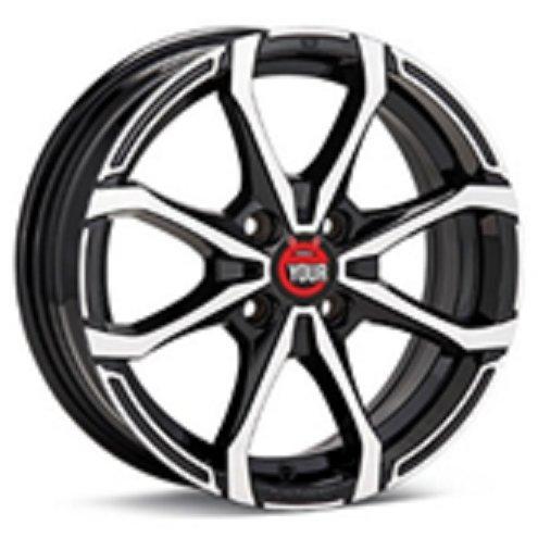 Диск Ё-wheels E17 6x15/4x108 D63.4 ET45 BKF