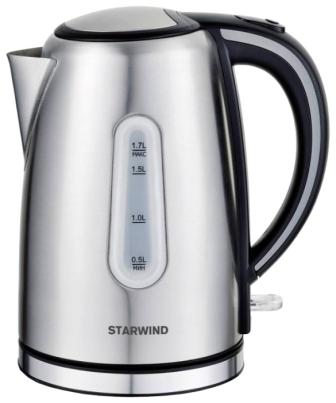 Чайник электрический  StarWind SKS 5540 серебристый