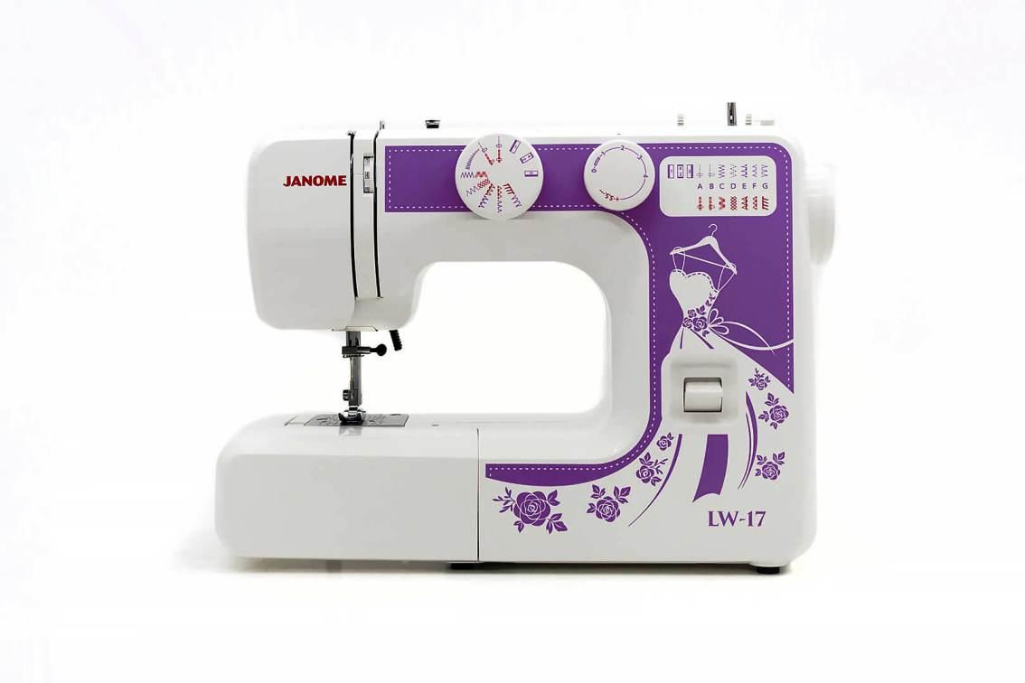 Швейная машина JANOME LW 17