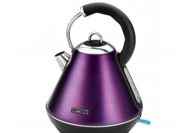 Чайник электрический  CLATRONIC WKS 3625 brombeer