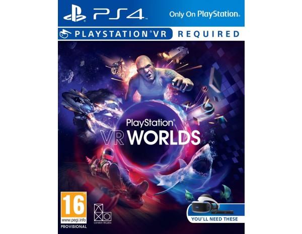 VR Worlds (только для VR) (PS4 русская версия)