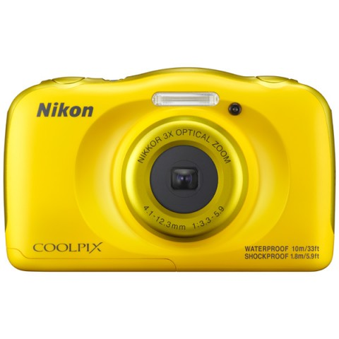 Фотоаппарат компактный Nikon Coolpix W100 Yellow Backpack KIT