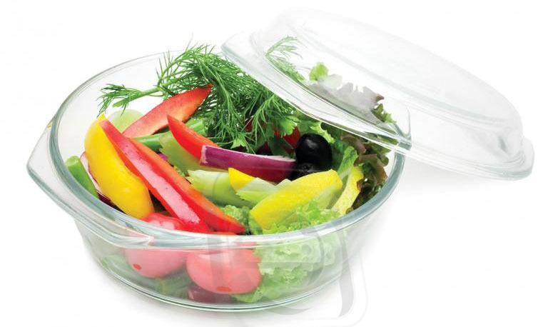 Жаропрочная посуда для готовки в СВЧ Supra