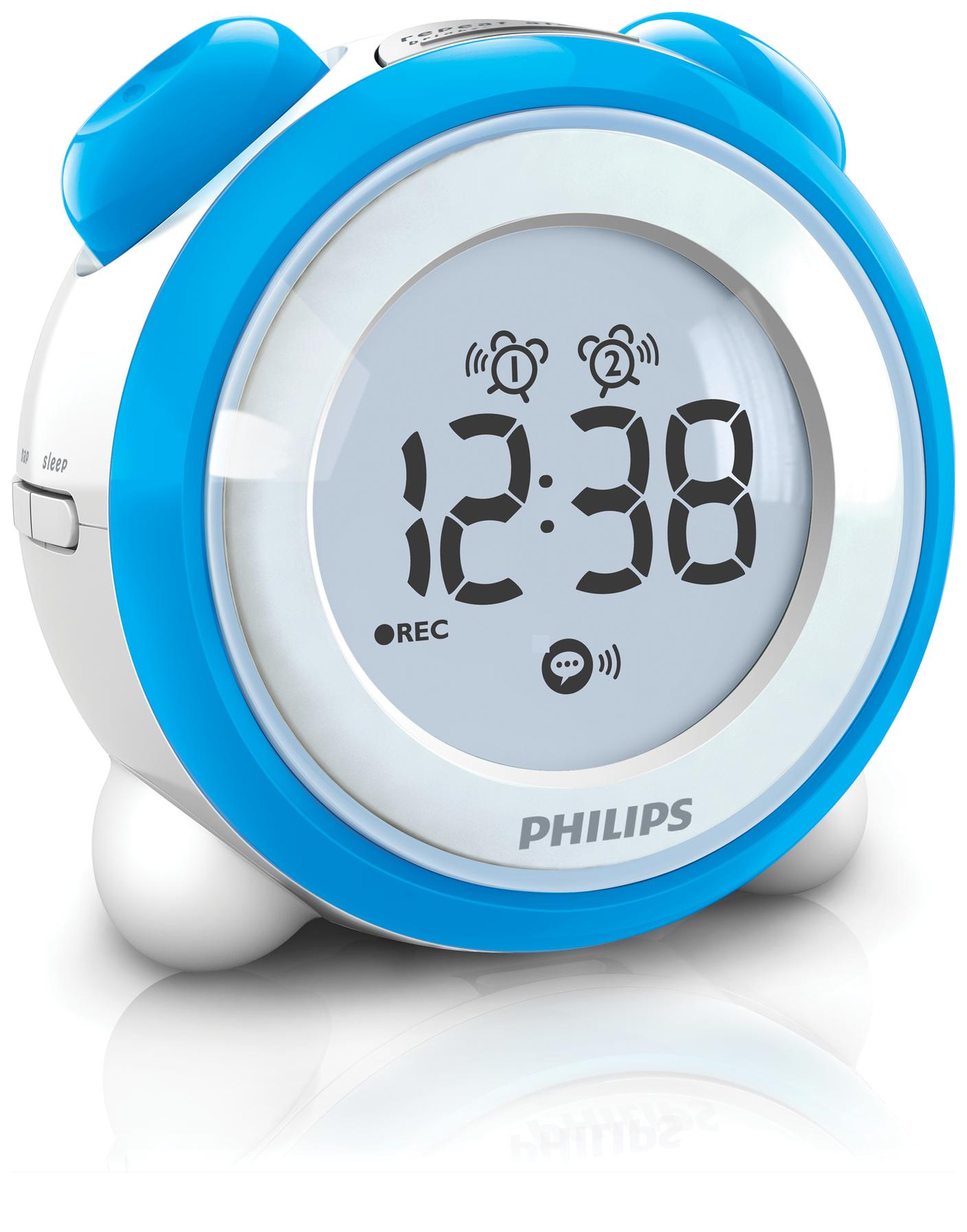 Настольные часы Philips от RBT.ru
