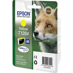 Картридж струйный Epson Картридж epson (c13t12844011) желтый