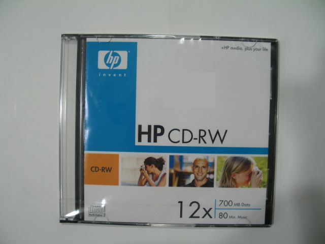CD-диск Hp Real Brand Technics 15.000