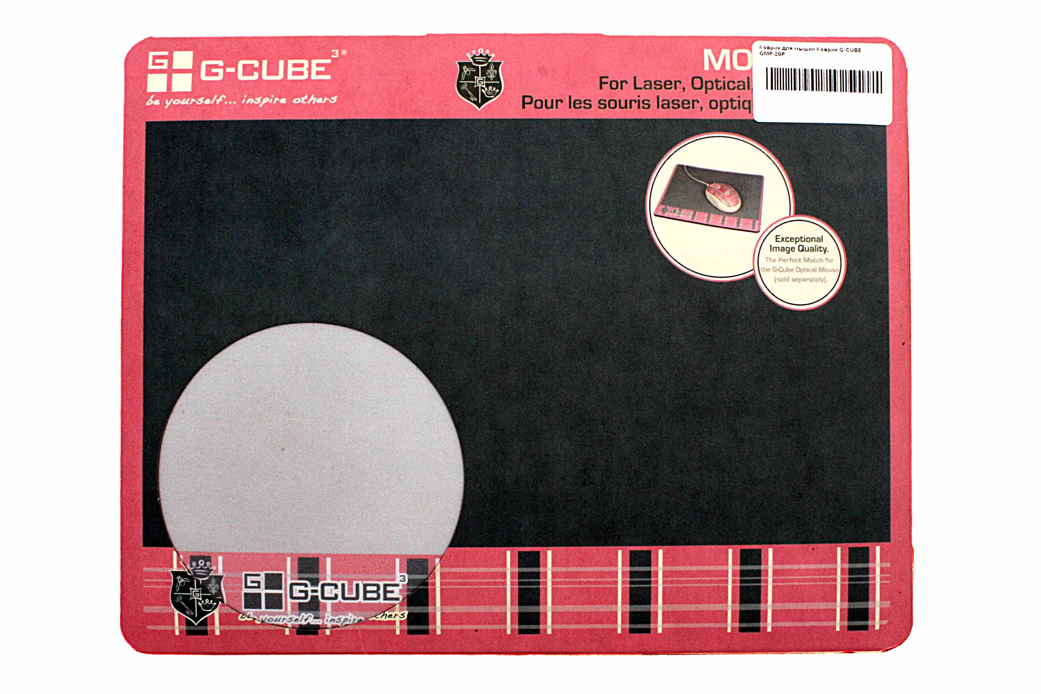 Коврик для мыши G-cube Real Brand Technics 99.000