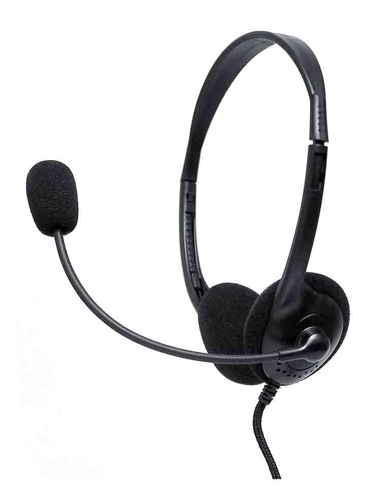 Наушники с микрофоном проводные Диалог