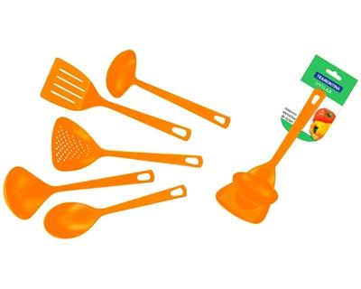 Набор кухонных принадлежностей Tramontina 25099/404 (004/104/204/704/904) кухонный набор utilita 872-035