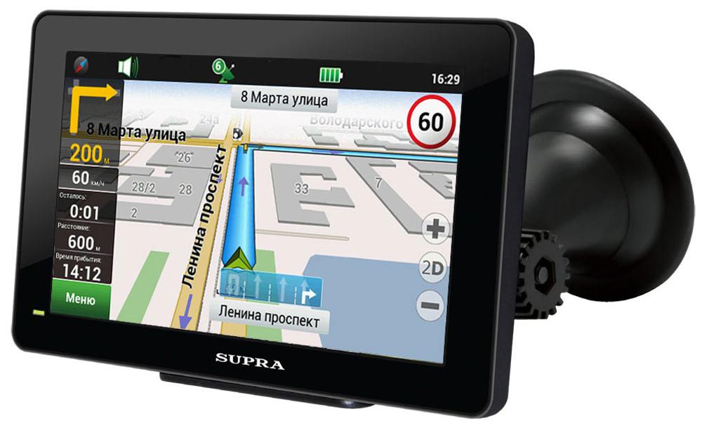 Навигатор Supra Real Brand Technics 2500.000