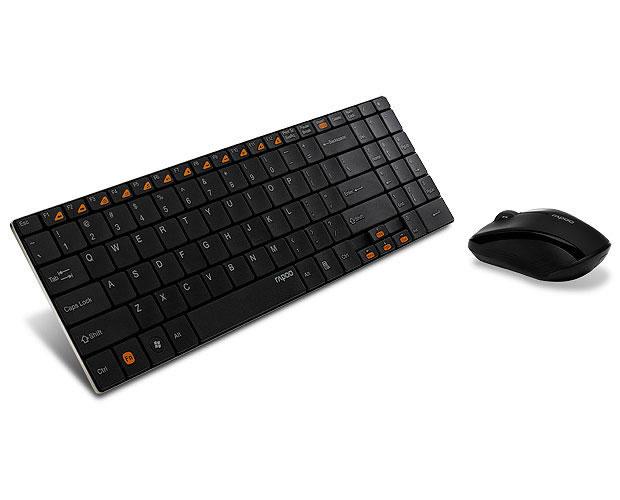 Клавиатура + мышь Rapoo 9060 беспроводные мышь и клавиатура