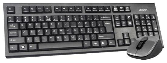 Клавиатура + мышь A4Tech 7100N (GR-85+G7-630N) беспроводной