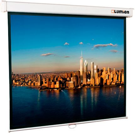 "Экран для проектора LUMIEN Master View 115"" 213х213 1:1 (LMV-100104) штатив"