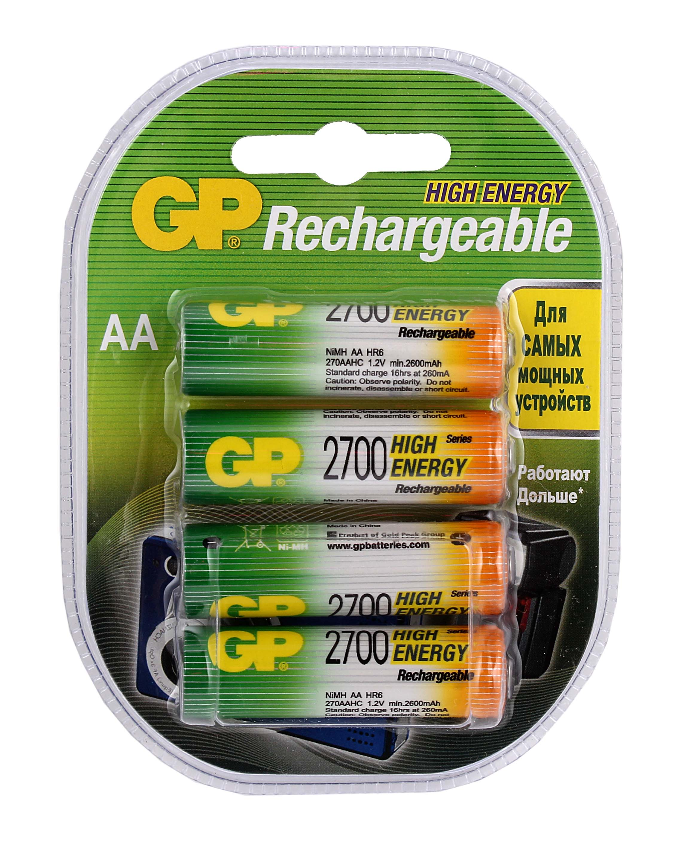 Аккумуляторы Gp Real Brand Technics 664.000