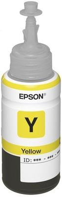 Картридж струйный Epson Картридж epson c13t66444a желтые чернила для l100/110