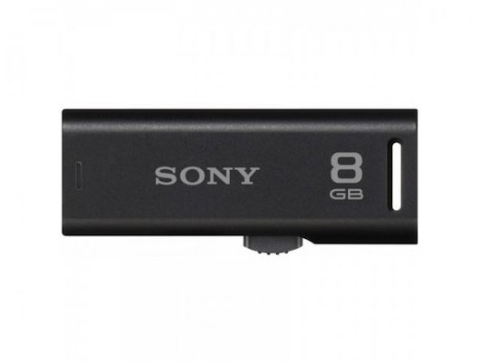 Флеш-диск SONY USM8GR 8GB черный