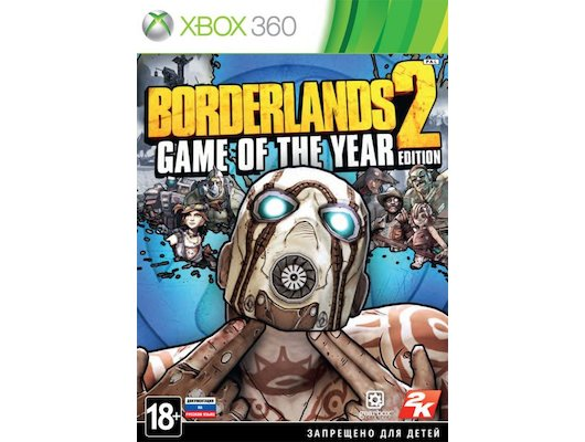 Borderlands 2: Game of the Year Edition (Xbox 360 русская документация