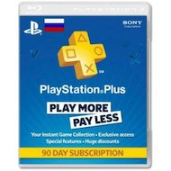 SONY PlayStation Plus подписка на 3 мес в Салавате