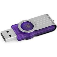Фото Флеш-диск Kingston 32Gb DataTraveler 101 DT101G2/32GB USB2.0 фиолетовый