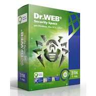 Компьютерное ПО Dr.Web Security Space Pro 3 ПК/1 год (AHW-B-12M-3-A2) в Салавате