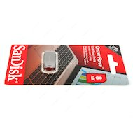 Флеш-диск USB 2.0 SanDisk 8Gb Cruzer Force SDCZ71-008G-B35