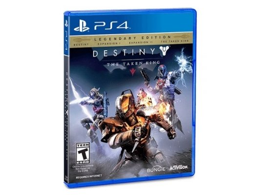 Destiny The Taken King Legendary Edition (PS4 англ. версия)