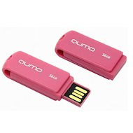 Флеш-диск USB 2.0 QUMO 16GB Twist Cerise
