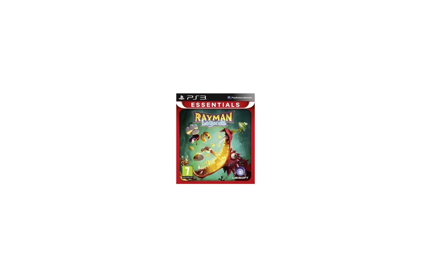 Rayman Legends (Essentials) (PS3 русская версия)