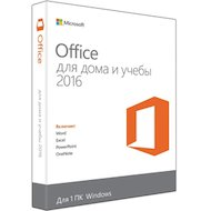 Фото Компьютерное ПО Microsoft Office Home and Student 2016 Russian Only Medialess (79G-04322)