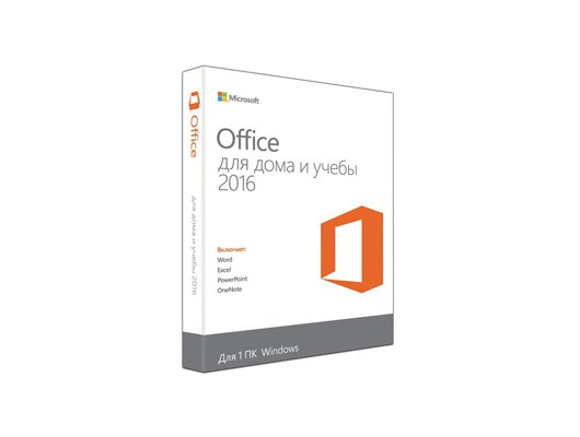 Компьютерное ПО Microsoft Office Home and Student 2016 Russian Only Medialess (79G-04322)