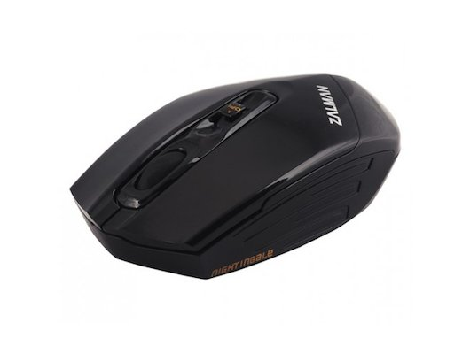 Мышь беспроводная Zalman ZM-M500WL USB 3000dpi 2.4Ghz Wireless Gaming 3 in 1 Function Keyblack