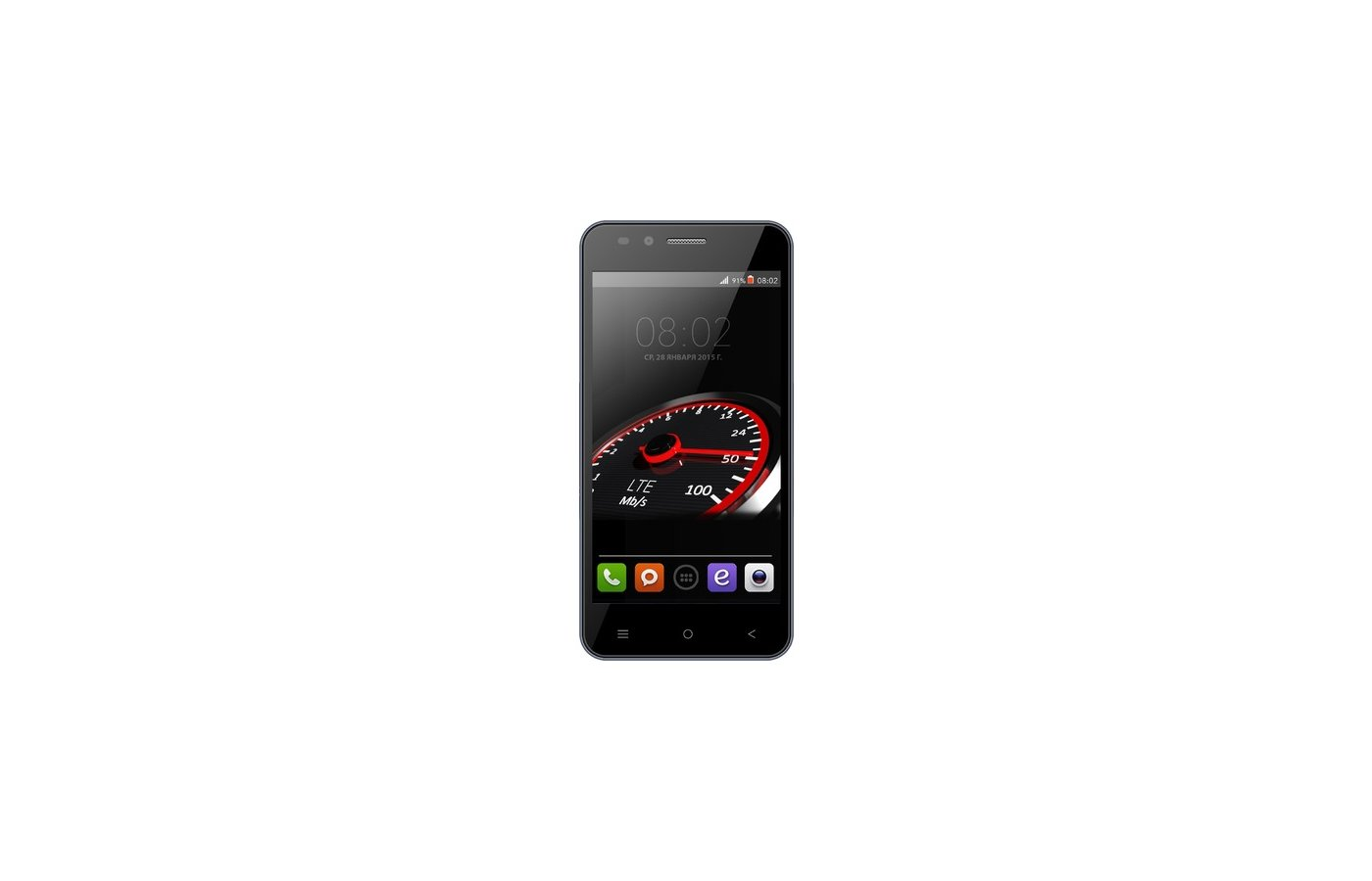 Смартфон BQ BQS-4555 Turbo LTE Black