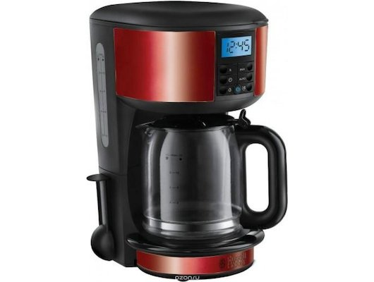 Кофеварка RUSSELL HOBBS Legacy Coffee Red 20682-56