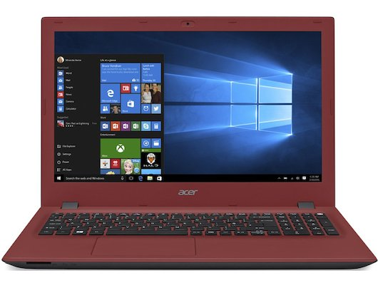 Ноутбук Acer E5-573-34QR /NX.MVJER.001/ intel i3 4005U/4Gb/500Gb/DVDRW/15.6/WiFi/Win8 Red