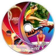 DVD-диск DVD-R Mirex DVD-aRt ATHLETIC CONTEST 4.7 Гб 16x  Портмоне пластик 10 (UL130085A1V)