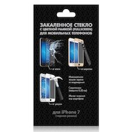 Стекло DF fullscreen для iPhone 7 (iColor-07) black
