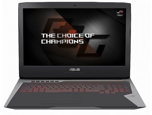 Ноутбук ASUS ROG G752VS-GB081T /90NB0D71-M00940/