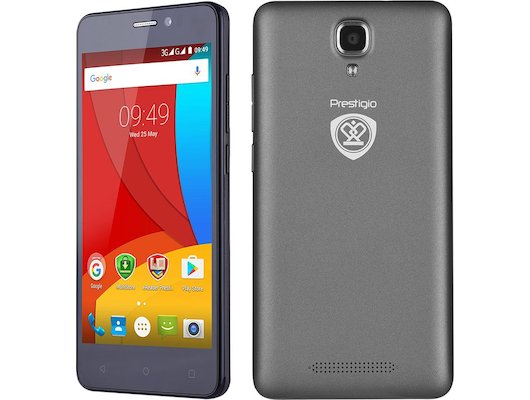 Смартфон PRESTIGIO Muze K5 5509 DUO GREY