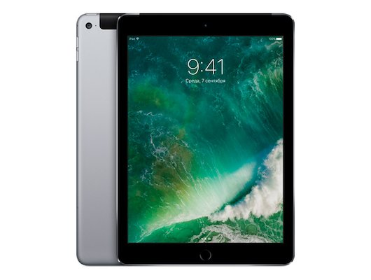 Планшет Apple iPad Air 2 WiFi + Cellular 32GB (MNVP2RU/A) Space Grey
