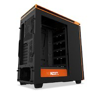 Фото Корпус NZXT H440 черный/оранжевый w/o PSU ATX 7x120mm 5x140mm 2xUSB2.0 2xUSB3.0 audio bott PSU
