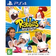 Фото Rabbids Invasion (PS4 русская версия)
