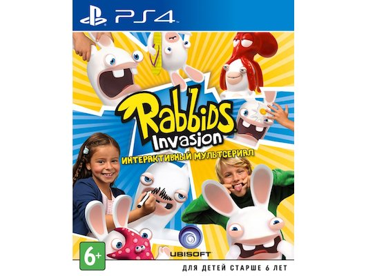 Rabbids Invasion (PS4 русская версия)
