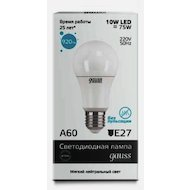 Лампочки LED Gauss LED Elementary A60 10W E27 4100K в Уфе