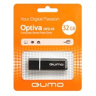 Флеш-диск USB 2.0 QUMO 32GB Optiva 01 Black