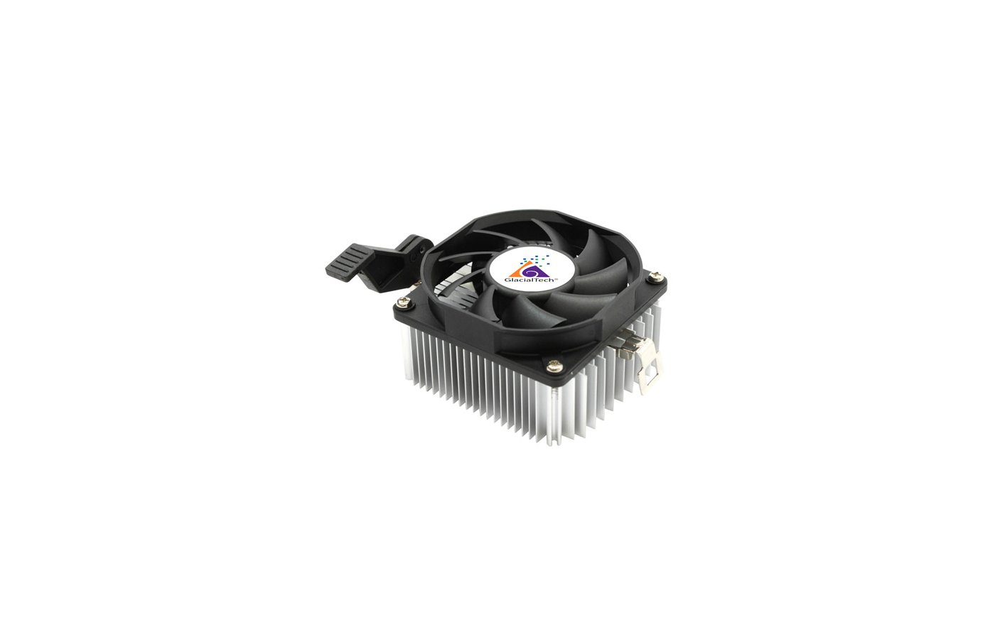 Охлаждение Glacialtech Igloo A200 Light Soc-AMD/ 3pin 21dB Al 65W 165g скоба BULK