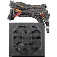 Фото Блок питания Aerocool ATX 600W VX-600 (24+4+4pin) 120mm fan 4xSATA RTL