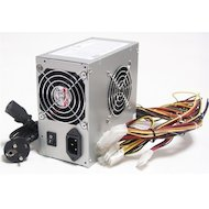 Фото Блок питания LinkWorld ATX 450W LW2-450W (24+4pin) 80mm fan 4xSATA RTL