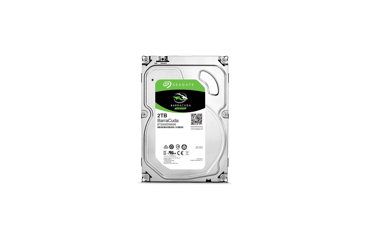 Жесткий диск Seagate SATA-III 2Tb ST2000DM006 Barracuda (7200rpm) 64Mb 3.5""