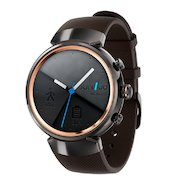 Смарт-часы Asus ZenWatch 3 WI503Q GunMetal brown leather (WI503Q-1LDBR0008)