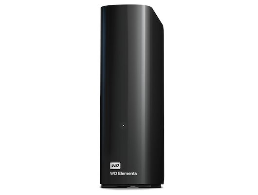 "Внешний жесткий диск Western Digital USB 3.0 2000Gb WDBWLG0020HBK-EESN Elements Desktop 3.5"" черный"